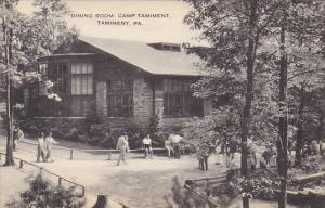 Dining Room Camp Tamiment Tamiment Pennsylvania Artvue