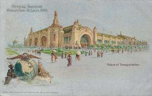USA Official Souvenir World's Fair St Louis 1904 Palace of Transportation 02.91