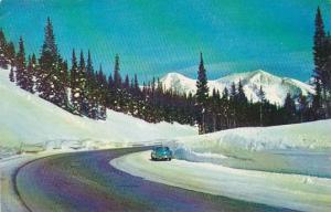 Colorado Colorado Springs Wintertime Wounderland