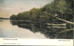 Gaspereaux River - Port Elgin NB, New Brunswick, Canada - pm 1906 - UDB