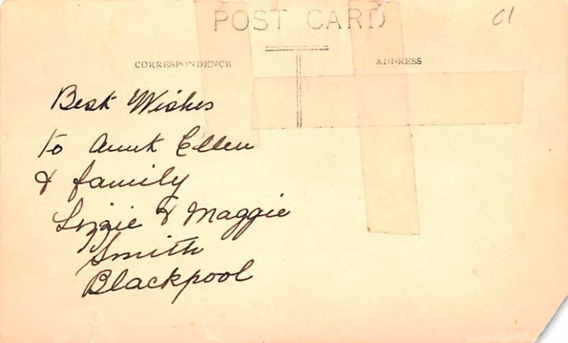 EA & Ma Smith Caf» Blackpool United Kingdom, Great Britain, England Writing ...