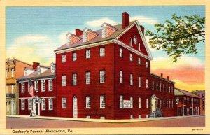 Virginia Alexandria Gadsby's Tavern Curteich