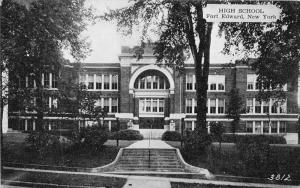 12247  NY Fort Edward 1920's  High School