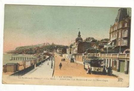 Boulevard & La Heve Cape,Le Havre (Seine Maritime),France,00-10s