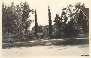 1070 Topeka Street Pasadena California RPPC Real photo C-1920 5903
