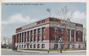 Exterior, City and County Building, Cheyenne, Wyoming, 00-10s