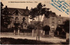 CPA St-SULPICE-LAURIERE - Villas (390650)