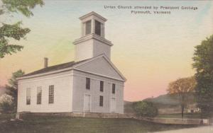 Union Church , PLYMOUTH , Vermont , 10-20s