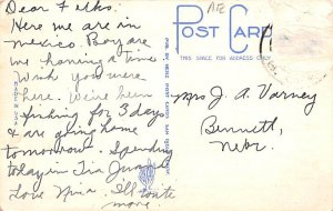 Main Street Tijuana Mexico Tarjeta Postal Postal Used Unknown, Missing Stamp