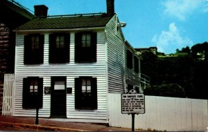 Missouri Hannibal Mark Twain Boyhood Home 1993