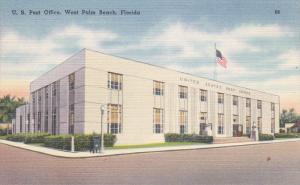 U. S. Post Office, WEST PALM BEACH, Florida, 30-40s