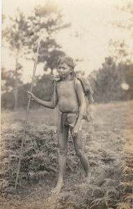 RP: PHILIPPINES , 00-10s ; Man with spear