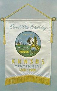 Centennial Banner , Kansas , 1961