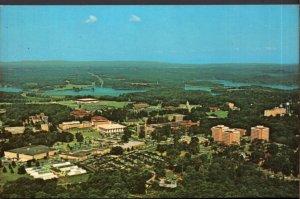 South Carolina CLEMSON Aerial View of Clemson University Campus - Chrome