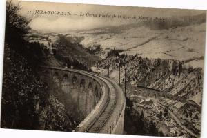 CPA Jura-TouriSte-Le Grand Viaduc de la ligne de MOREZ a ANDELOT (263734)