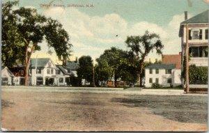 GOFFSTOWN, N.H.   POSTCARD - CENTRAL SQUARE - VINTAGE - PC