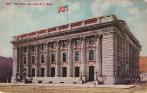 Post Office, SALT LAKE CITY, Utah, 1900-1910s