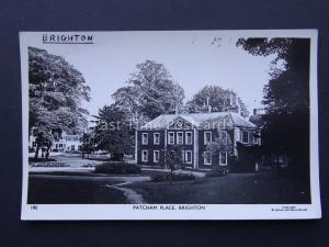 Youth Hostel BRIGHTON PATCHAM PLACE YHA Sussex c1960/70's RP Postcard by YHA