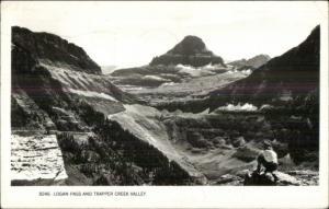 Ketchikan AK Cancel Logan Pass Trapper Creek Valley Real Photo Postcard