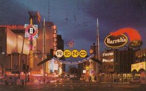 RENO , Nevada , 1976 ; Virginia Street
