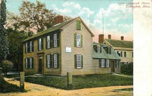 Lexington Massachusetts~John Hancock House~1905 Postcard