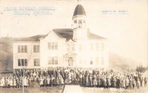 F26/ Drain Oregon RPPC Postcard 1907 State Normal School Students