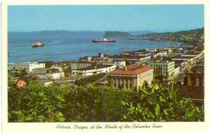 View of Astoria, Oregon, OR, Chrome