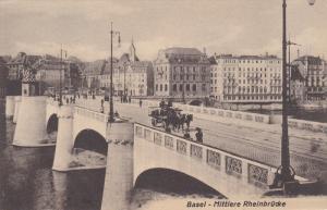 BASEL , Switzerland , 00-10s ; Mittlere Rheinbrucke