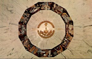 Pennsylvania Hershey Medallion In Center Of Rotunda Floor Founders Hall Milto...