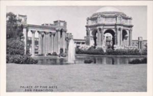 California San Francisco Palace Of Fine Arts Small Card
