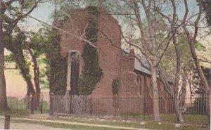 Virginia Jamestown Island  Old Jamestown Church Albertype