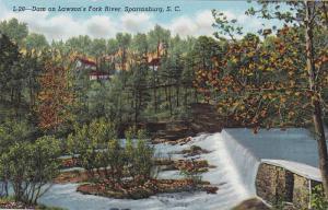Dam On Lawson's Fork River, Spartanburg, South Carolina, 1930-1940s