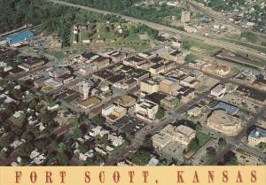 Aerial View Fort Scott Kansas