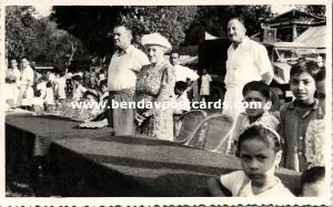 malay malaysia, Installation 6th Raja of Perlis Syed Harun Putra (1940s) RPPC