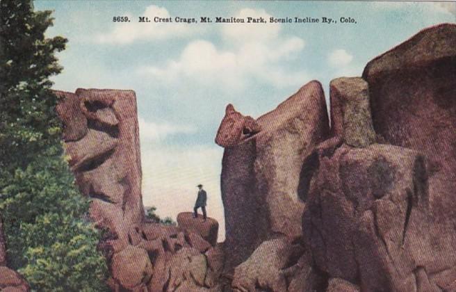 Colorado Mt Manitou Mt Crest Crags