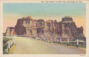South Dakota Bad Lands The Castle On Cedar Pass