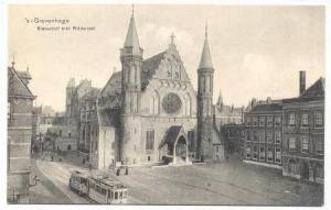Trolleys, Binnehof met Ridderzaal, Gravenhage, Holland, 00-10s