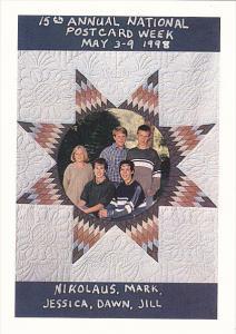 Fred & Eileen Walton Grandhchildren 15th Annual Postcard Week 1998