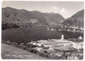 COMO, Stadio G. Sinigaglia, e primo bacino, 1953 used Postcard