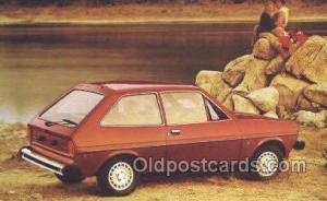1979 fiesta 3 door  Automotive Old Vintage Antique Postcard Post Cards  1979 ...