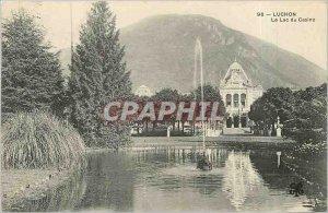 Old Postcard Luchon Lake Casino