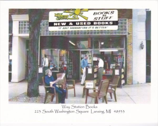 Michigan Lansing Way Station Book Store