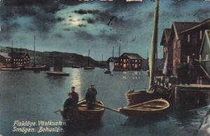 Fisklage . Vastkusten. Smogen. Bohuslan. , Sweden , PU-1911
