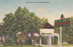 YUMA , Arizona , 1930-40s ; Gretna Green Wedding Chapel