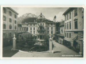 old rppc NICE VIEW Pontresina - Maloja - Graubunden Switzerland i2248