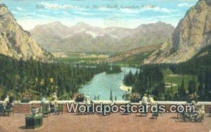 Bow Valley, CPR Hotel Banff, Canadian Rockies Canada Writing On Back