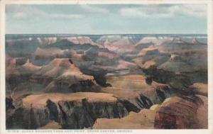 Arizona Grand Canyon Cloud Shadows From Hopi Point Fred Harvey Detroit Publis...