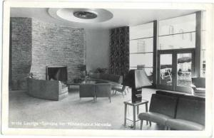 RPPC of the Lounge, Sonoma Inn, Winnemucca, Nevada, NV, EKC real Photo
