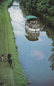 Horse Drawn Boat Joshua White - Lehigh Canal PA, Pennsylvania