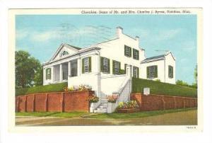 Cherokee, Home of Mr. and Mrs. Charles J. Byrne, Natchez, Mississippi, PU-1955